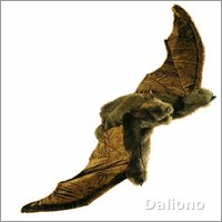 Folkmanis hand puppet brown bat