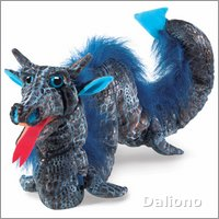 Folkmanis hand puppet sea serpent