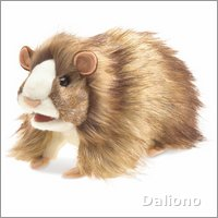 Folkmanis hand puppet guinea pig