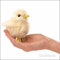 Folkmanis finger puppet mini chick