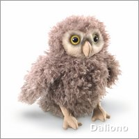Folkmanis hand puppet owlet
