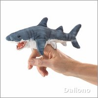 Folkmanis finger puppet mini shark