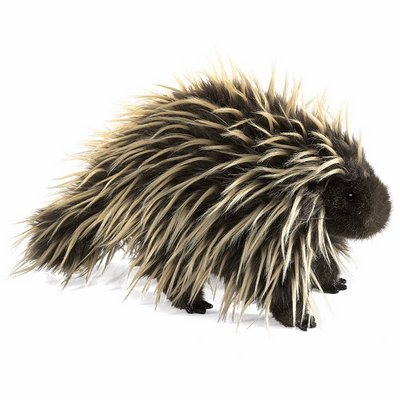 Folkmanis hand puppet porcupine