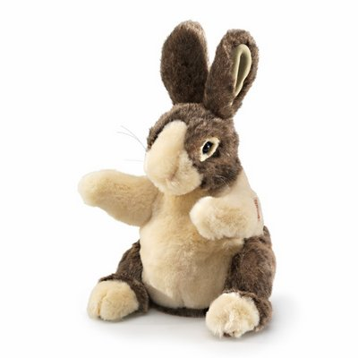 Folkmanis hand puppet baby dutch rabbit