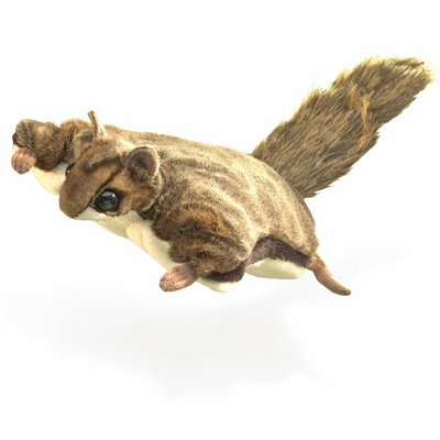 Folkmanis hand puppet flying squirrel