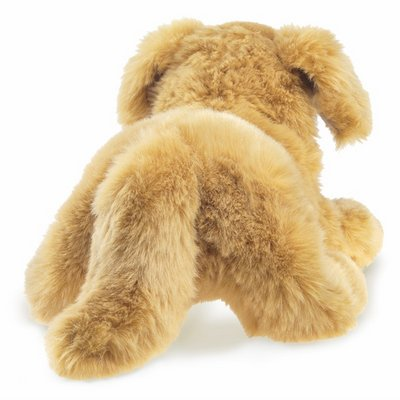Folkmanis Handpuppe Golden Retriever Baby