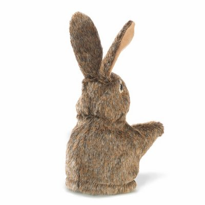 Folkmanis hand puppet little hare (small stage puppet)