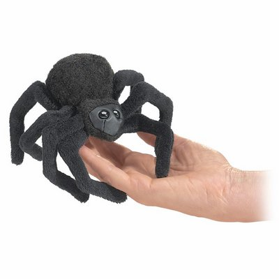 Folkmanis finger puppet mini spider