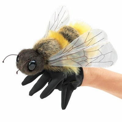 Folkmanis hand puppet honey bee