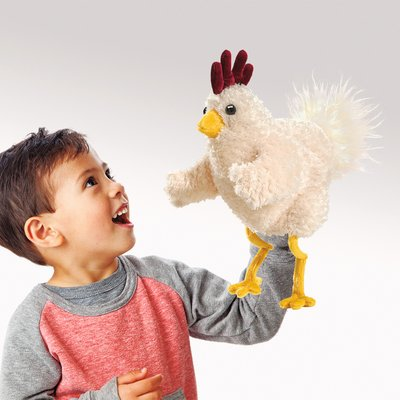 Folkmanis hand puppet funky chicken