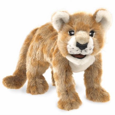 Folkmanis hand puppet African lion cub