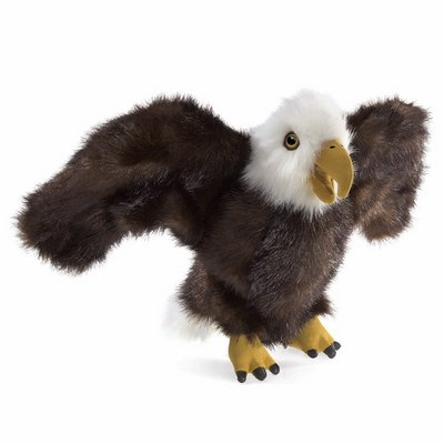 Folkmanis hand puppet small eagle