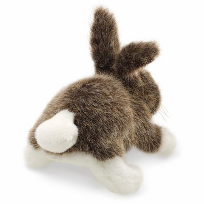 Folkmanis finger puppet mini cottontail rabbit