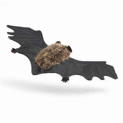 Folkmanis large finger puppet brown bat