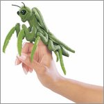 Folkmanis finger puppet mini praying mantis