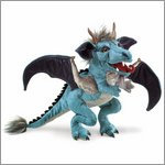 Folkmanis hand puppet sky dragon