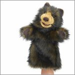 Folkmanis hand puppet bear (stage puppet)