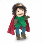 Folkmanis hand puppet royal prince