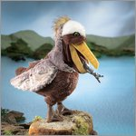 Folkmanis hand puppet pelican