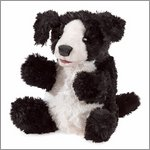 Folkmanis hand puppet small dog