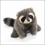 Folkmanis hand puppet baby raccon